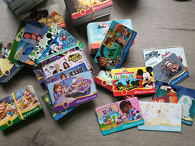 Disney Disneyland gift card you choose - Collectible No value