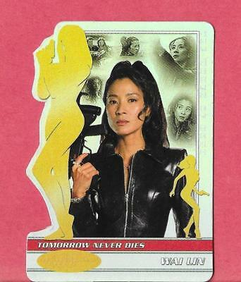 JAMES BOND 40th Anniversary - MICHELLE YEOH - BOND WOMEN  - Chase Card #BW0018