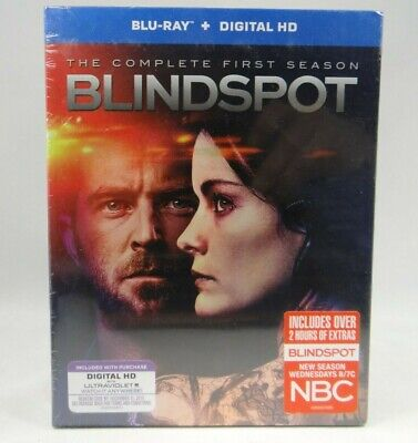 Blindspot: The Complete First Season (Blu-ray Disc, 2016, 4-Disc Set)