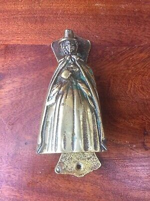 Vintage Welsh Lady Door Knocker