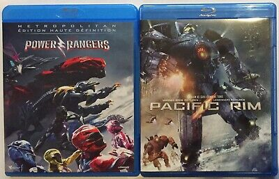 📀 Lot 2 Blu Ray - Power Ranger (2017) + Pacific Rim 🤖