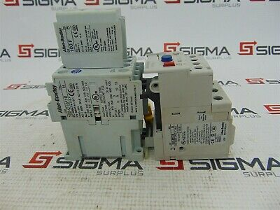 Allen-Bradley 100-C16*10 Contactor Ser. B w/ 100-F Auxiliary Contact, 193-EECB