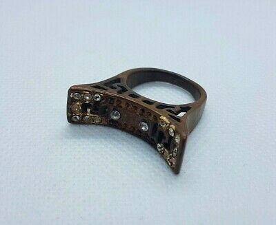 extremely ancient old ring bronze viking ring bronze artifact amazing