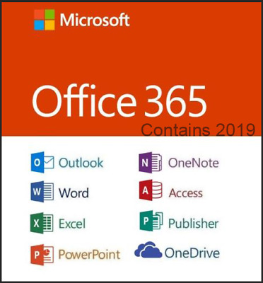 Office 365 PRO 5 PC 5 MAC Office 2019/2016 nuovo account-COMPLETO