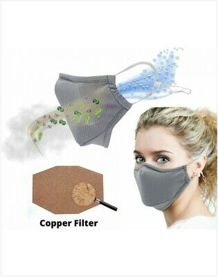 P2 N95 Dr Hoffman Reuseable Face  Mask For Virus Bacteria Asthma And Allergy