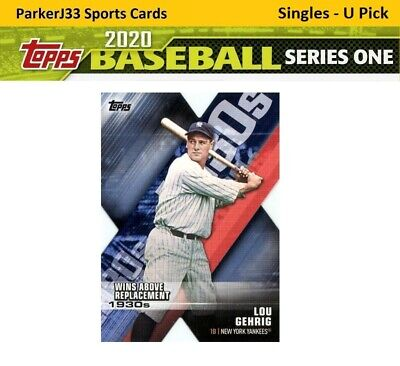 2020 Topps Series 1 Decade of Dominance Die-Cut Inserts - You Pick - Complete