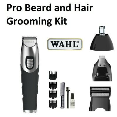 Wahl Pro Cordless Beard Body Shaver Hair Trimmer Clipper Mens Electric Grooming