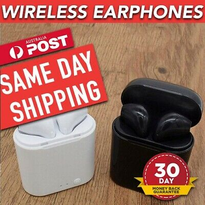 Latest TWS i7 Wireless Earbuds Bluetooth 5.0 Headphones Headset Iphone/Android