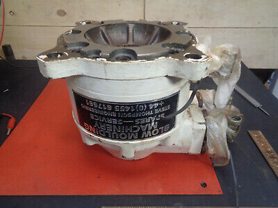 Hydraulic motor 600rpm 750NM 200bar spline drive ATE shredder H22H71P
