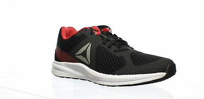 Reebok Mens Endless Road Black/Grey/Red Running Shoes Size 9 (776161)