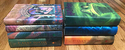 Harry Potter Complete Hardcover Book Set 1-7 JK Rowling 1st American Editions