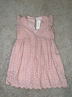 NWT New Women's Impressions Casual Comfy Pink Country Romper Dress size S Small