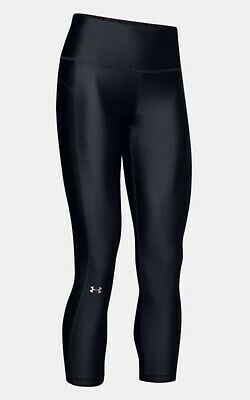 Under Armour Women's HeatGear High-Rise Ankle Crop Leggings Medium New With Tags