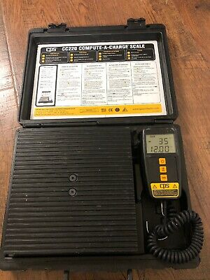 CPS CC220 Compute a Charge 220lb Electronic Refrigerant Charging /Recovery Scale