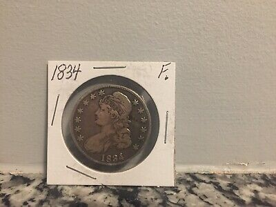 1834 Capped Bust Half Dollar 50 Cents