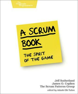 Scrum Book by Jeff Sutherland Paperback Book Free Shipping!