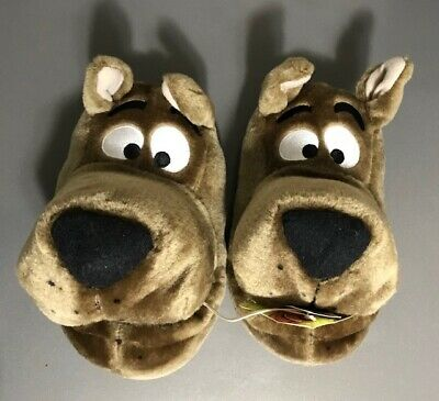 Scooby Doo Cartoon Network Plush Slippers Size S NWT NEW 13-1 SEE ALL PICS