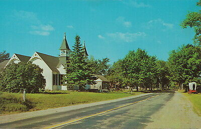 CEN Huron City Port Austin MI OLD M.E. Church HUBBARD PHELPS MEMORIAL CHAPEL!!!