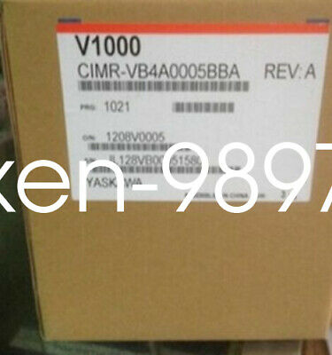 1PC Brand NEW IN BOX Yaskawa V1000 Inverter CIMR-VB4A0005BBA 1.5KW #HC
