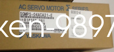 1PC New YASKAWA SGMPS-04ACA21-E Servo Motor #HC