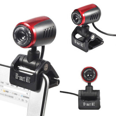 1080P HD USB 12MP Camera Web Cam Mic 360° Clip-on 30fps for PC Comput PG