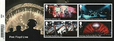 GB Stamps 2016 'Pink Floyd' MS3855 - U/M
