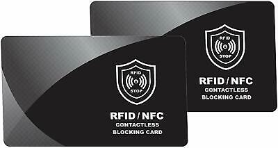 RFID & NFC Blocking Card for Wallets, Clip Holders, Passport, Backpack – Anti