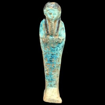 ANCIENT EGYPTIAN HIEROGLYPHIC SHABTI (3) Large Over 14 cm !!!!