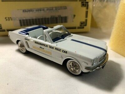 1/43 scale die cast model BROOKLIN 1964 1/2 Ford Mustang INDY PACE CAR