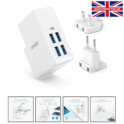 Anker USB Fast Charger 18W UK Plug