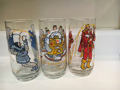 VINTAGE BURGER KING COLLECTOR SERIES 1979 DRINKING GLASS WIZARD OF FRIES