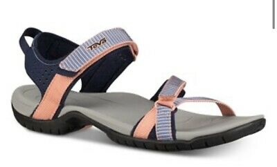 Teva W Verra Spili Ladder Apricot Blush Womens Ankle Strap Size 9 M New In Box