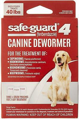 8 in 1 Safe Guard Canine Dewormer for Large Dogs 3 Day Treatment