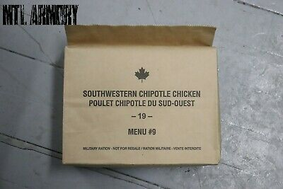 #09 Canadian Army Rations IMP MRE 2019 (Meals Ready-to-eat)