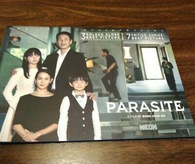 Parasite FYC Brochure Booklet Movie Film Promotional For Your Consideration