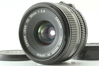 [Near Mint] Canon New FD 35mm f/2.8 MF Wide Angle Lens NFD from Japan #295