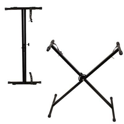 Adjustable Portable X Stand for Electronic Keyboard Electric Piano
