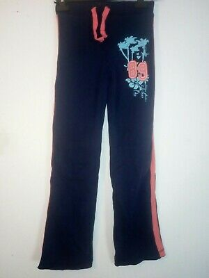 Bnwt Primark Young Dimension Girls Navy Jog Pants 9-10 Years 140cm