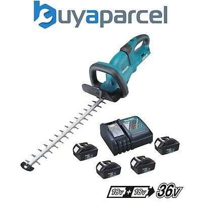 36v Lithium Ion Hedge Trimmer Makita DUH551Z Twin LXT 18v Bare Unit