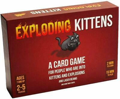 Exploding Kittens | Best Selling Kickstarter Card Game | Party Game | From 7 Yrs