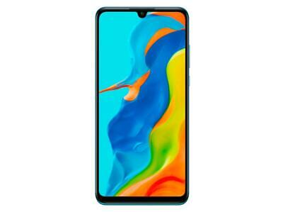 HUAWEI P30 lite NEW EDITION, 256 GB, Peacock Blue + Band 4 Pro Smartphone