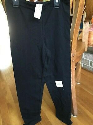 Girls Old Navy Black Capri Length leggings Size XL 14 New with tags