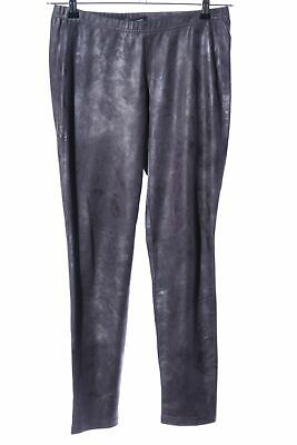 STEHMANN Leggings silberfarben Glanz-Optik Damen Gr. DE 36 Hose Trousers