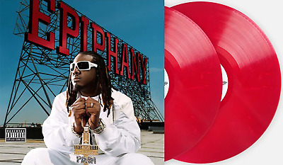 T-Pain - Epiphany Exclusive VMP Club Edition Red Marble 180G 2x Vinyl LP #/1000