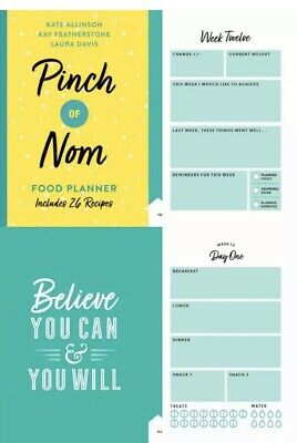 Pinch of Nom Food Planner Includes 24 Recipes