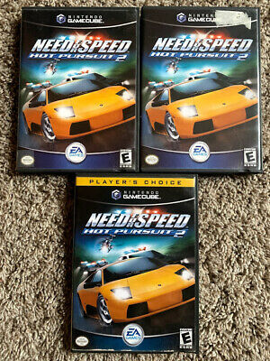 Nintendo GameCube Need For Speed Hot Pursuit 2 Complete w/ Manual - U PICK!