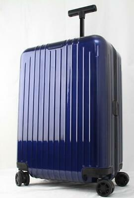 Rimowa Essential Lite Cabin Multiwheel Carry On Suitcase Navy Blue