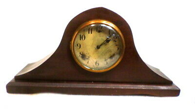1920 Gilbert Mantle Clock-Pendulum Driven With Bim Bam Strike on the Hour & 1/2