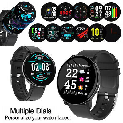 Women Men HD Smart Watch Fitness Bracelet IP67 For iPhone Samsung Android iOS