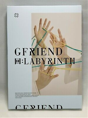 GFRIEND Official 回:LABYRINTH Album Twisted Package CD PhotoBook Mini Book